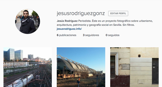Un Instagram sobre el urbanismo en Sevilla